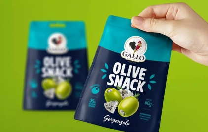 有品质的橄榄小吃包装